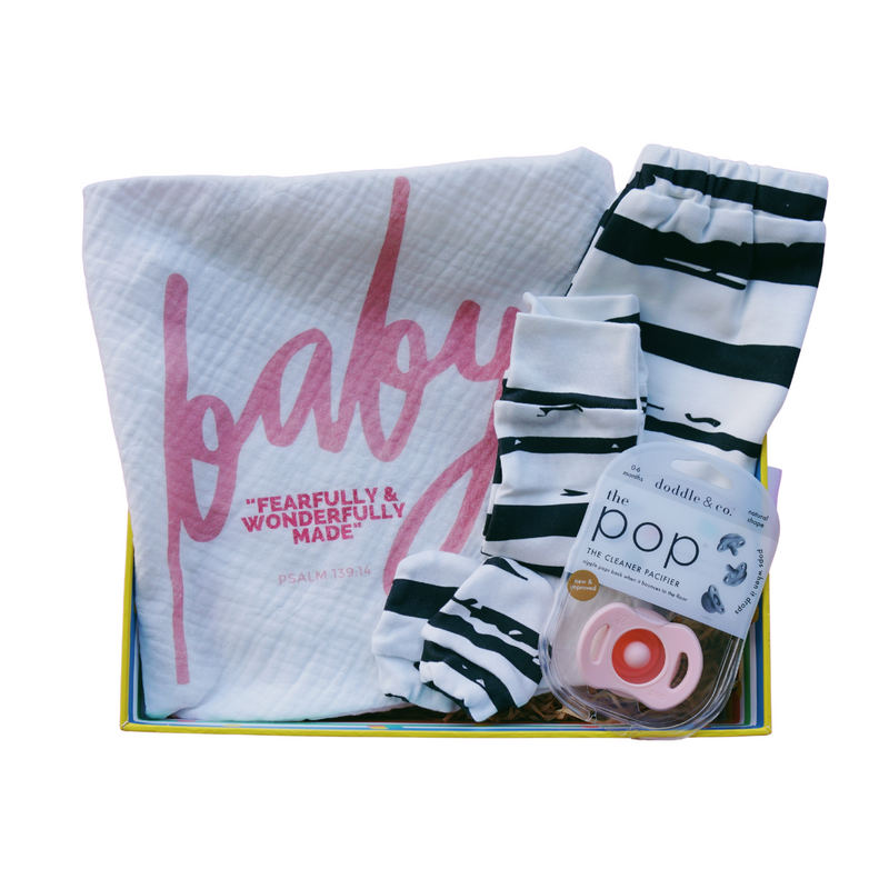 Fearfully & Wonderfully Newborn Box (Girl)
