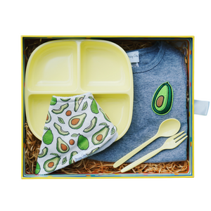 Little Foodie Box (Gender Neutral) - Avocado