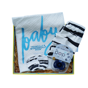 Fearfully & Wonderfully Newborn Box (Boy)