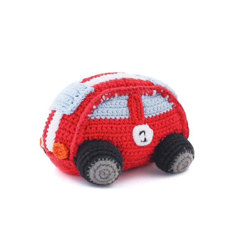 Red Racing Car Rattle