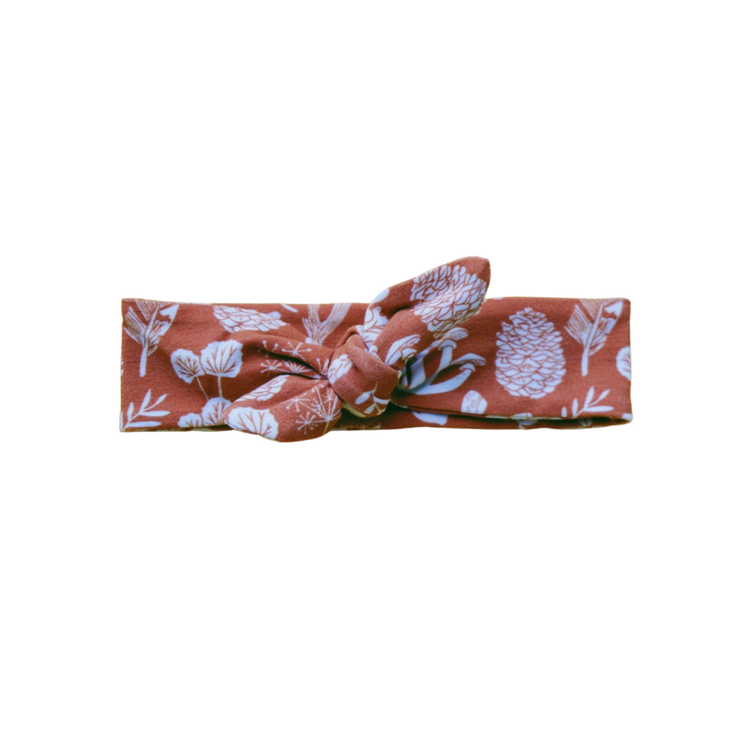 Organic Cotton Headbands - Botanical