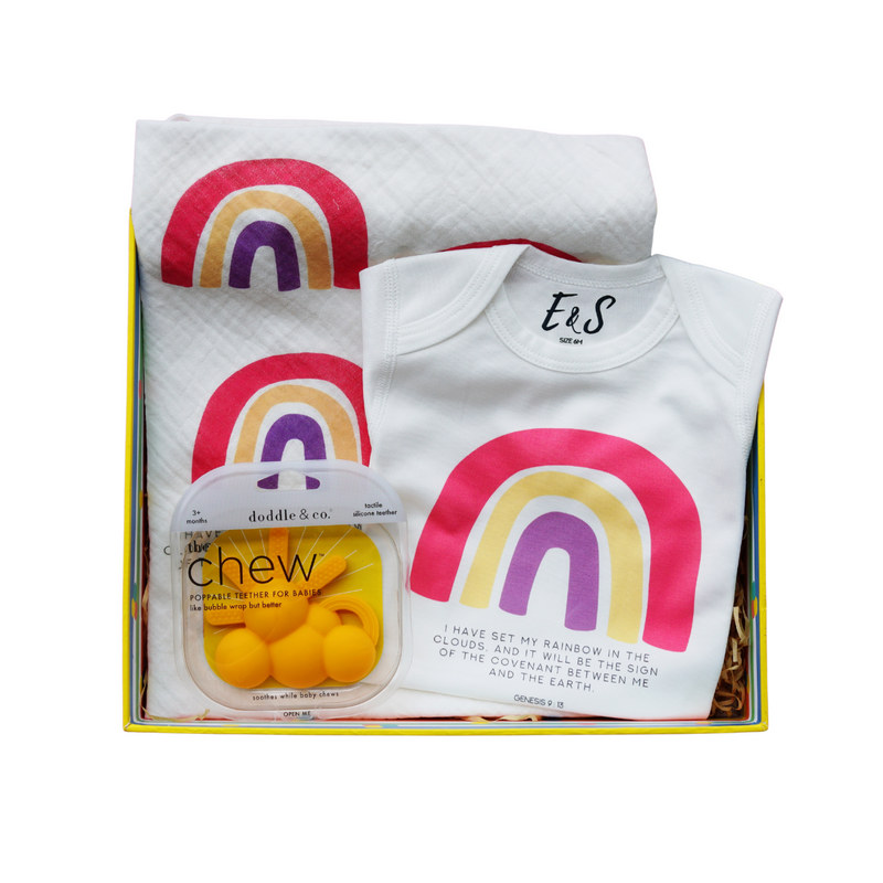 Rainbow Promises Baby Box - Bold