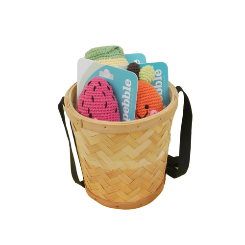 Friendly Fruit & Vege Basket Bag