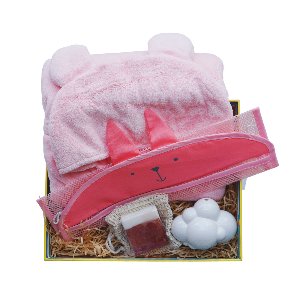 Bath Time Fun Baby Box (Girl)
