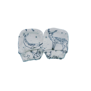 Organic Cotton Mittens - Constellations