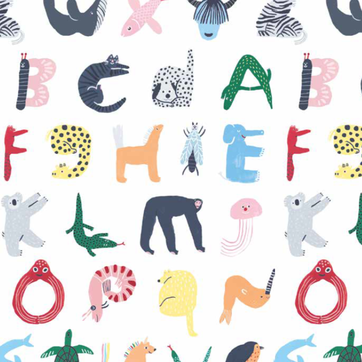 ABC's of Animals - Baby Wrap