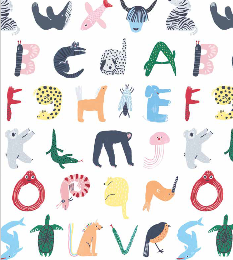 ABC's of Animal - Bib