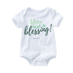 Blessing Romper - Forest