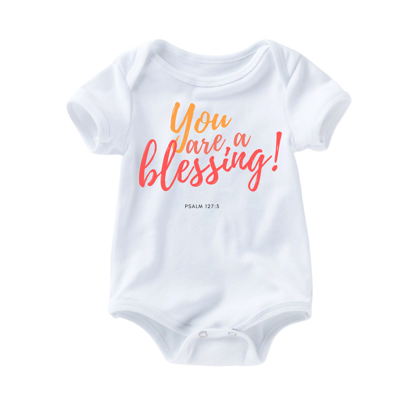 Blessing Romper - Coral