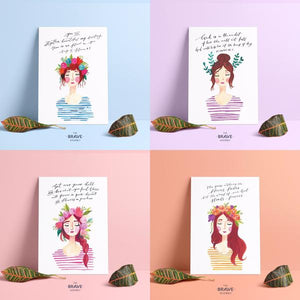 Bloom Ladies Cards