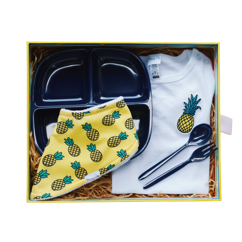 Little Foodie Box (Gender Neutral) - Pineapple