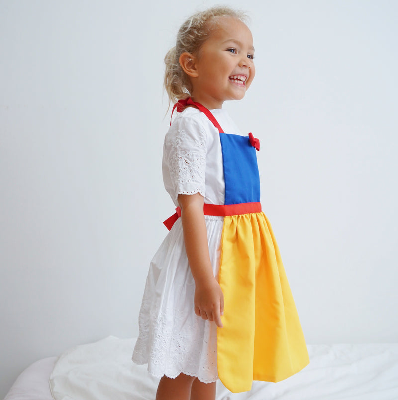 Kids Princess Aprons - Snow White Inspired