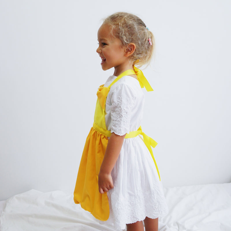Kids Princess Aprons - Belle Inspired
