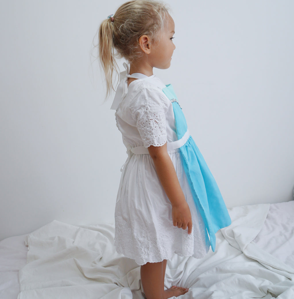 Kids Princess Aprons - Elsa Inspired