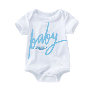 Fearfully & Wonderfully Romper - Blue