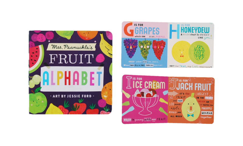 Fruit Alphabet Book