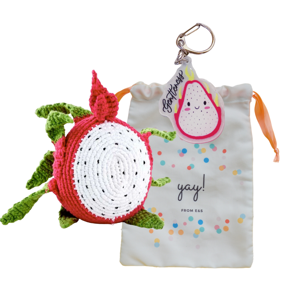 """Fruits of the Spirit"" Bag - Dragonfruit"