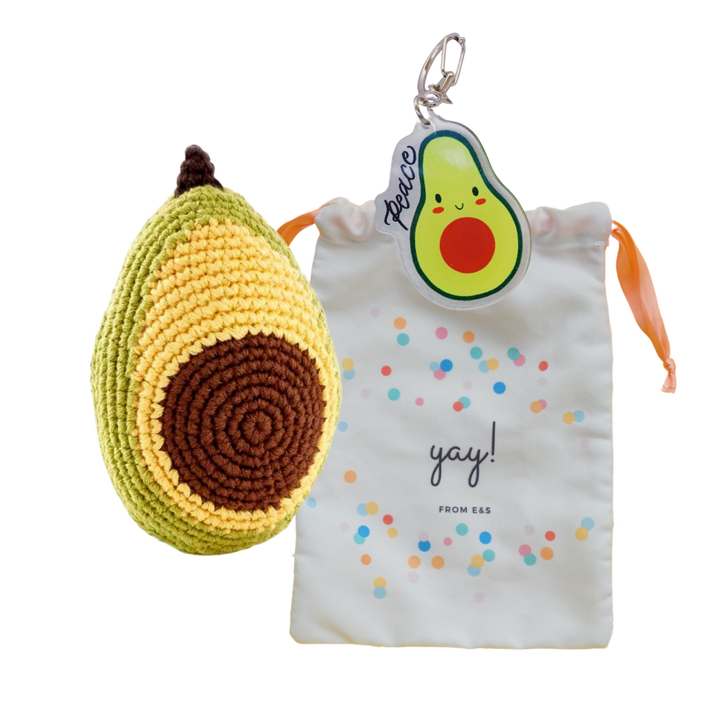 """Fruits of the Spirit"" Bag - Avocado"