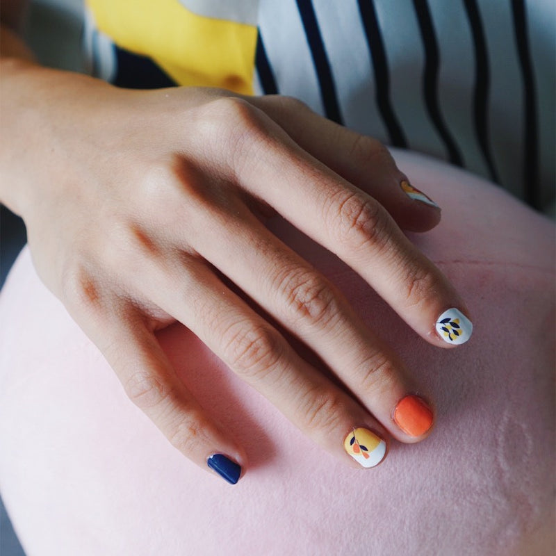 ES x NS Collaboration Nail Art