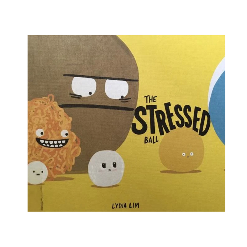 The STRESSED Ball by Lydia Lim