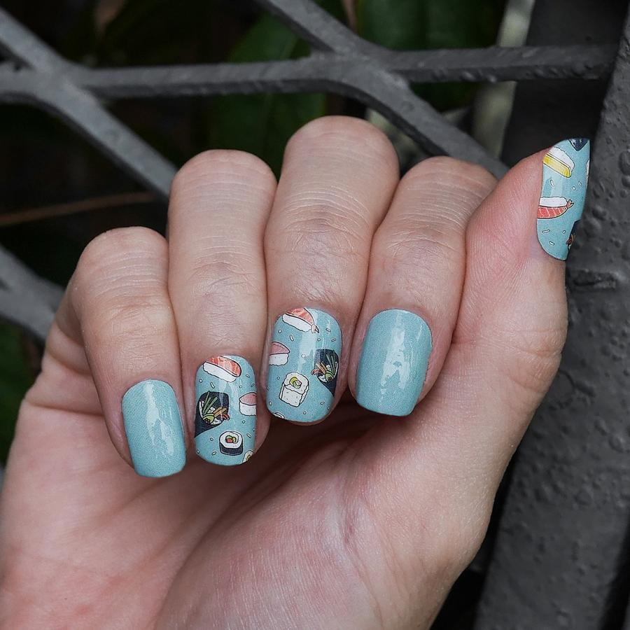 Sushi Addiction Nail Art