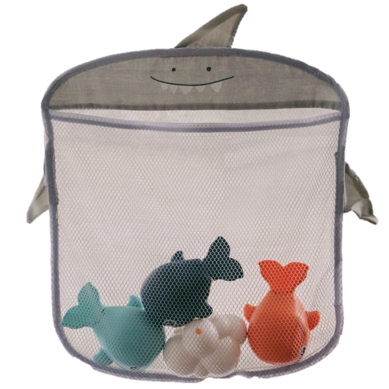New! Bath Bags + Toys (Shark)