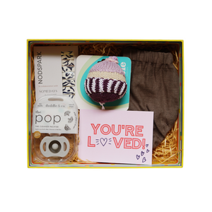 Pretty Please Baby Box - Gray