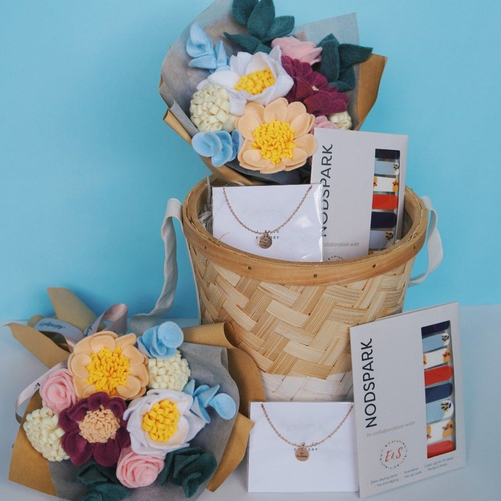 Floral Gift Basket - So Blessed