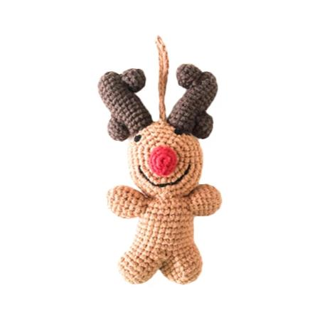 New! Christmas Ornament - Xmas Decoration Rudolph