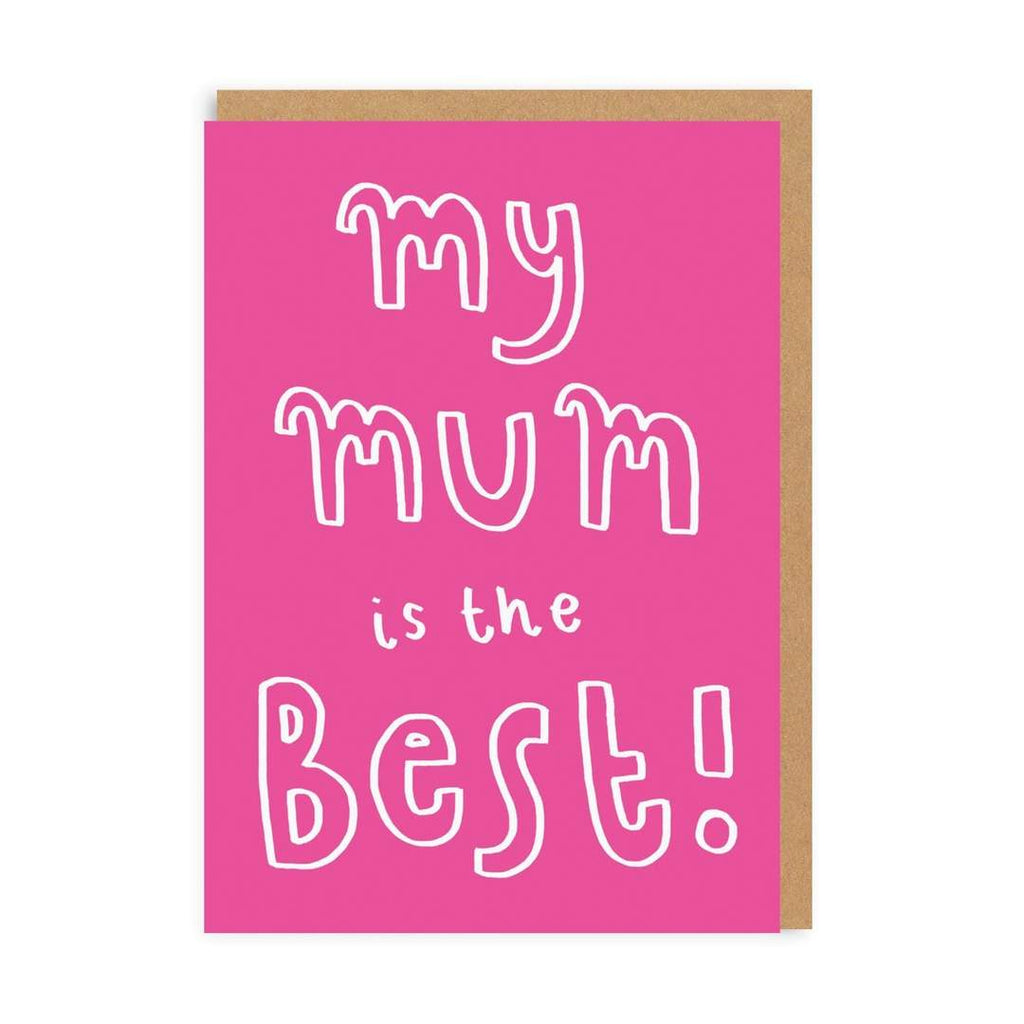 Ohh Deer - My Mum is the Best Card