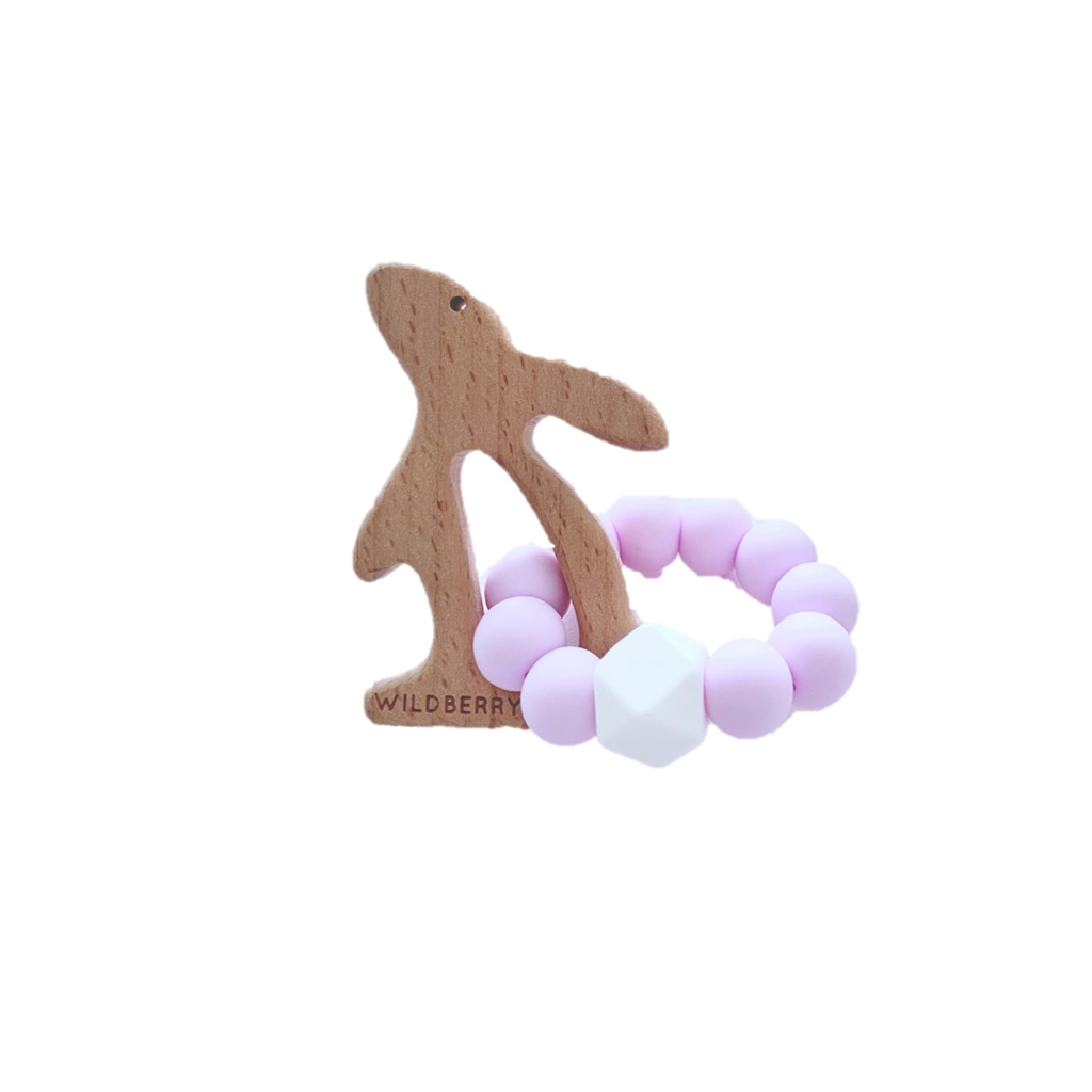 Wildberry Store Bunny Loop Teether