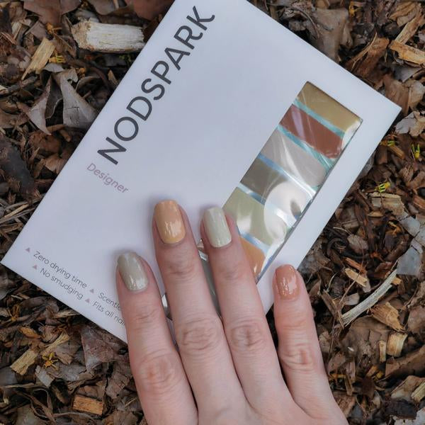 Timber Color Chart Nail Art