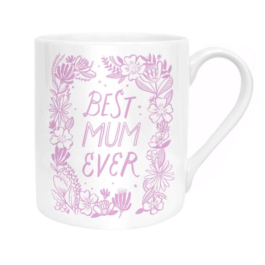 Ohh Deer - Best Mum Ever Wreath Mug