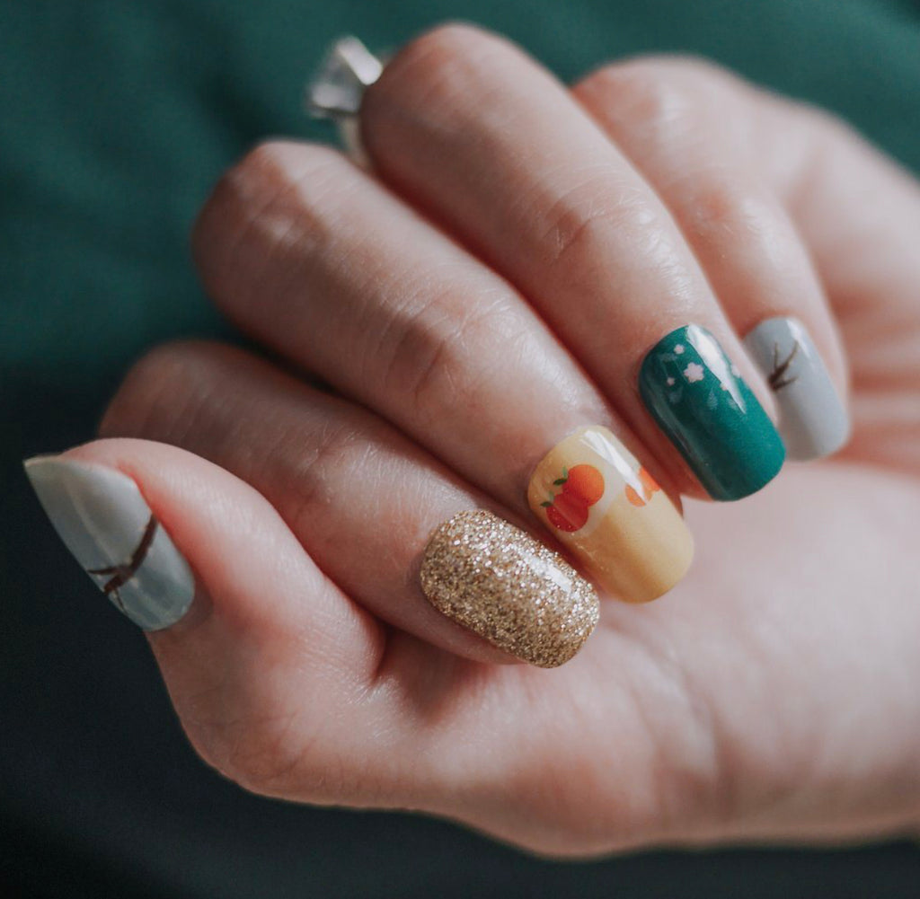 In the Mood for Spring Nail Art