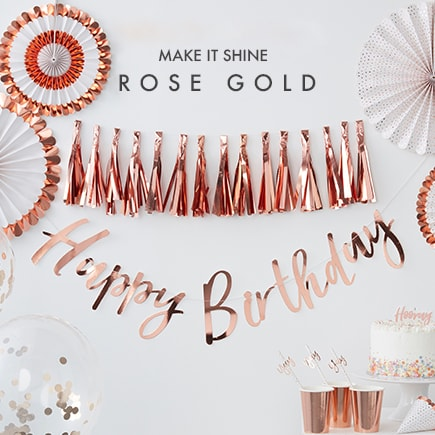 Rose Gold Party