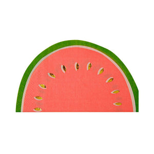 Watermelon Napkins (16) - Must Love Party
