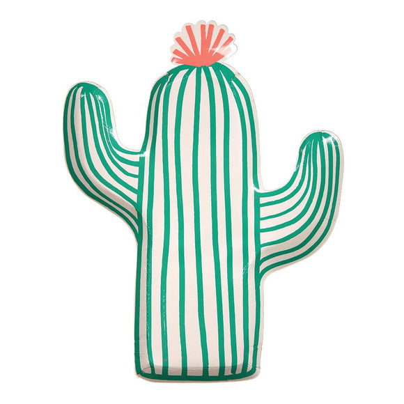 Cactus Plates - Must Love Party
