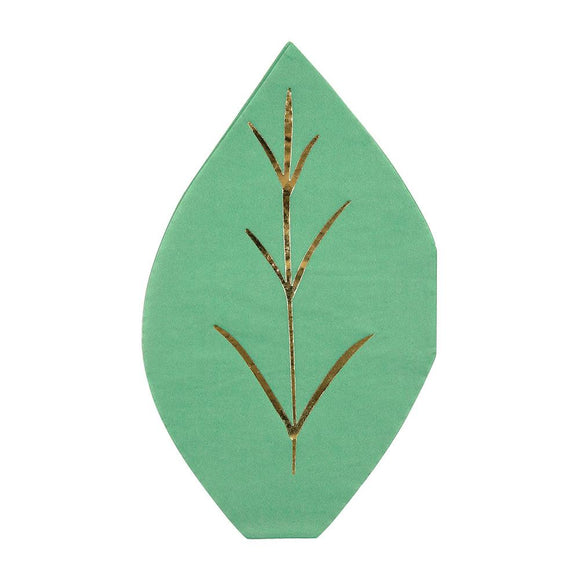 Leaf Napkins (16) - Must Love Party