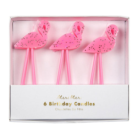 Flamingo Candles (6) - Must Love Party