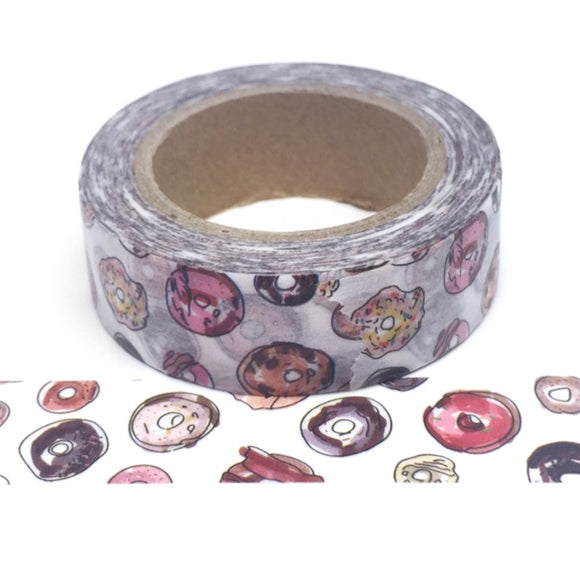 Washi Tape - Doughnuts - Must Love Party