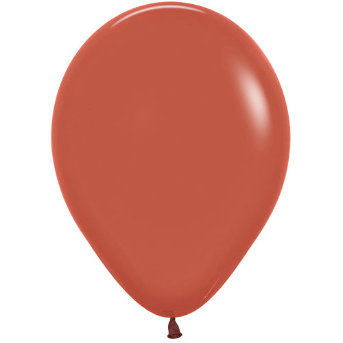 Mini Fashion Solid Terracotta Balloons