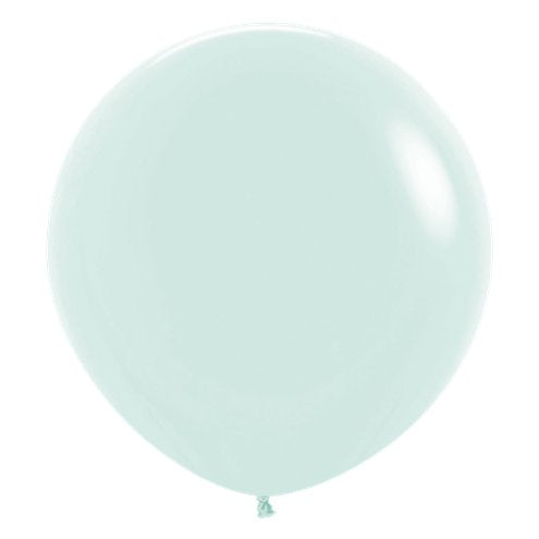 Jumbo Matte Pastel Green Balloons - Must Love Party