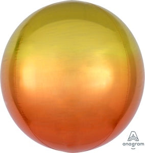 Ombre Yellow and Orange Orb - Must Love Party
