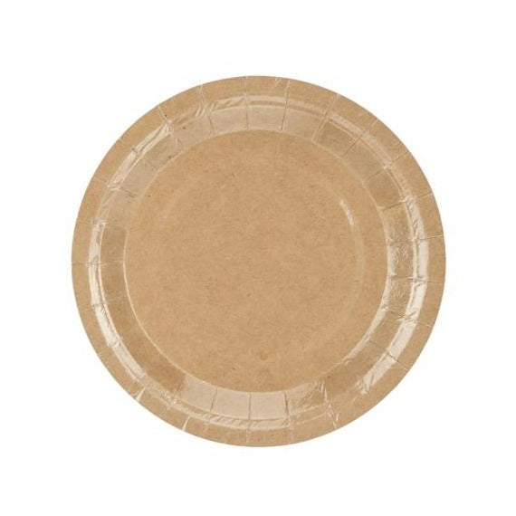 Kraft Small Paper Plates - Must Love Party