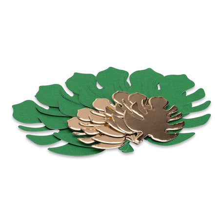 Tropical Leaves Place Cards