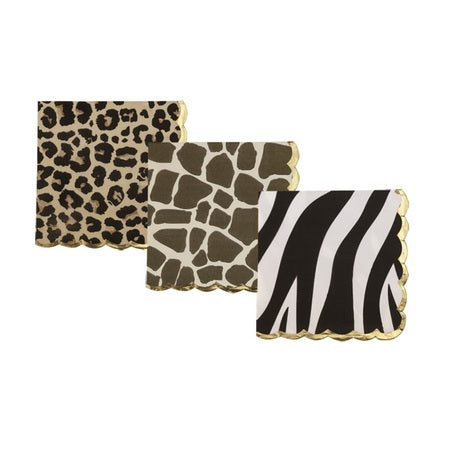 Assorted Safari Napkins