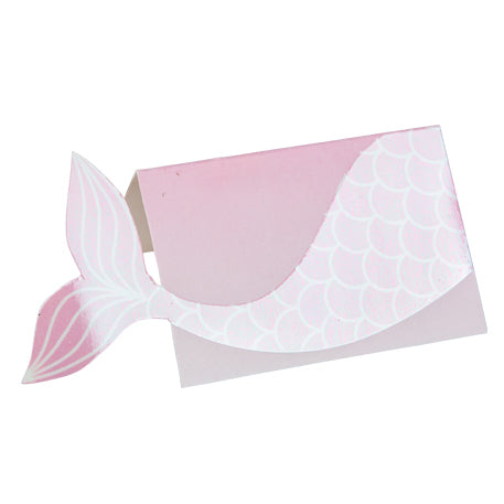Mermaid Tail Place Cards
