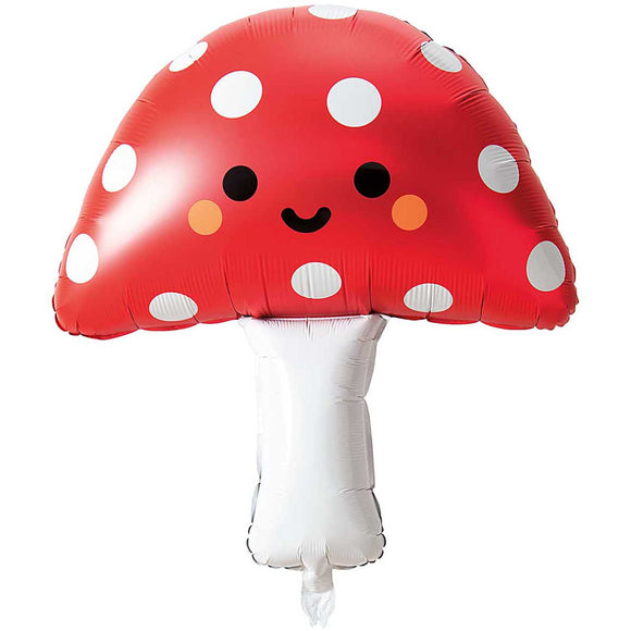 Toadstool Foil Balloon