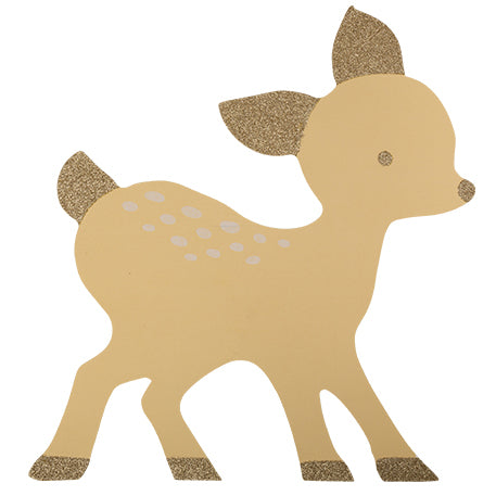 Little Fawn Paper Placemats
