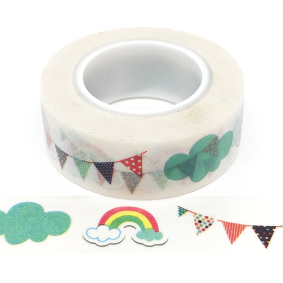 Washi Tape - Rainbows & Clouds - Must Love Party